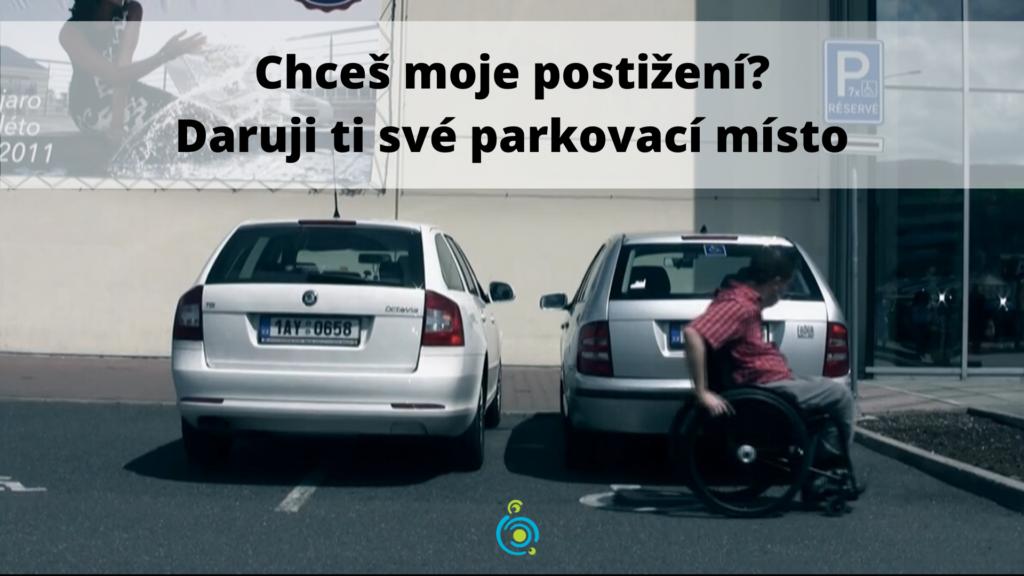 vozíčkář parkování