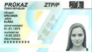 ZTP/P průkaz