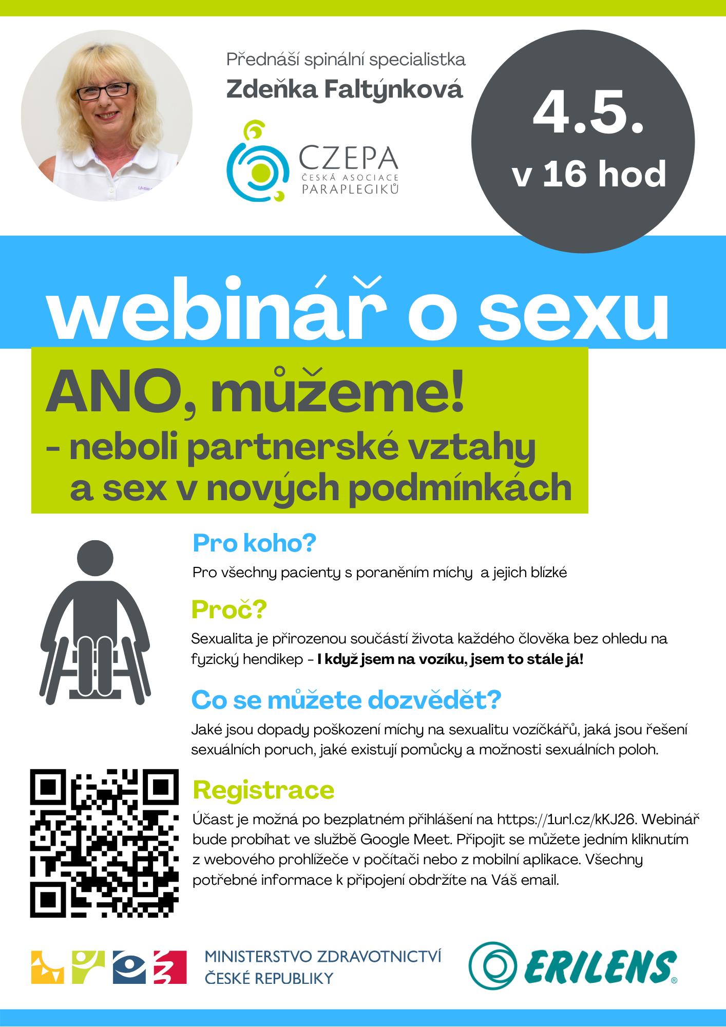 webinář o sexu